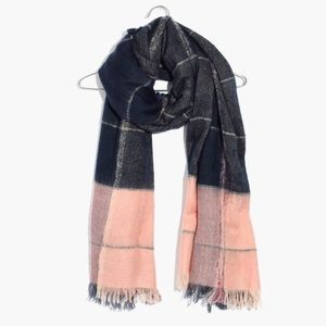 madewell | plaid scarf